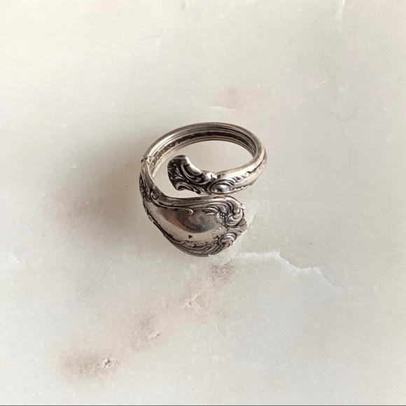 327b428ccf92d ✨NEW✨Vintage Old Master Towle Sterling spoon ring